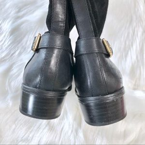 Lauren Ralph Lauren Shoes - Lauren Ralph Lauren Black Suede Knee High Boots
